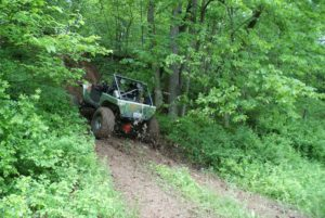 Jeep on Jr Trail