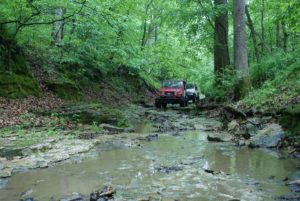 Jeep on Murphys Law Trail